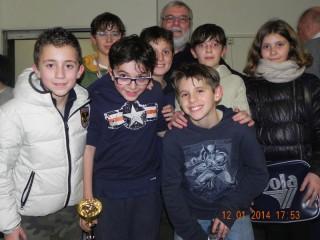 Grande risultato ottenuto dagli scacchisti senigalliesi nel torneo Under 16 che si è svolto domenica 12 gennaio a Falconara