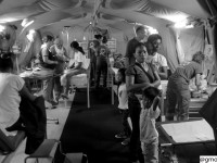 La tragedia delle Filippine nella foto di Gabriele Moroni: ospedale da campo della Protezione Civile delle Marche