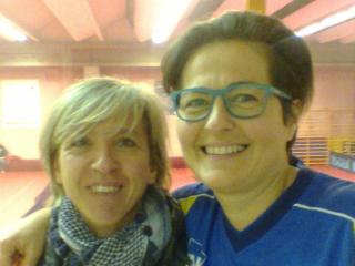 Sabrina Moretti con Paola Piccioni