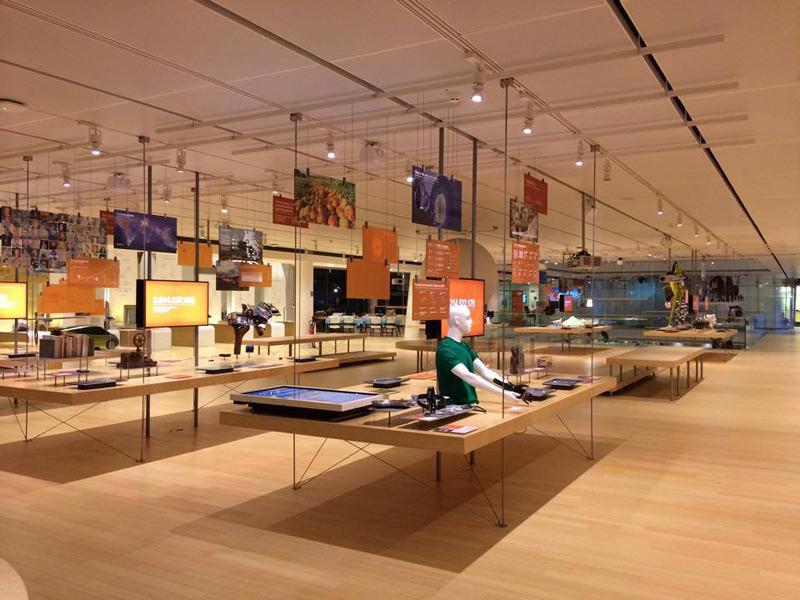 Il Muse di Trento allestito per il Festival See Science 2014