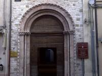 Il centro culturale San Francesco, ad Arcevia