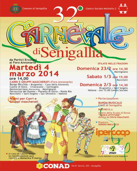 Carnevale 2014, manifesto