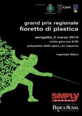 locandina Gran Prix Regionale Fioretto di Plastica