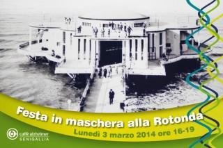 Festa in maschera alla Rotonda di Senigallia - cartolina