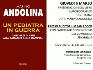 Incontro con Marino Andolina, manifesto