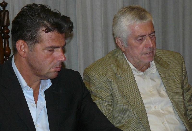 Carlo Montanari con Maurizio Mangialardi