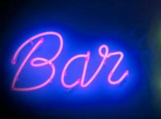 Insegna pubblicitaria esercizio commerciale, bar