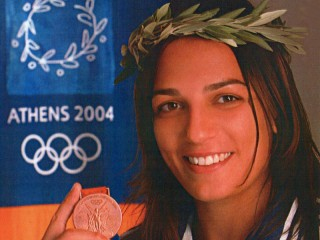Lucia Morico - Bronzo nel judo ad Atene 2004