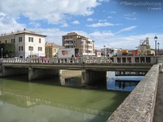 Verifiche sul ponte II Giugno a Senigallia