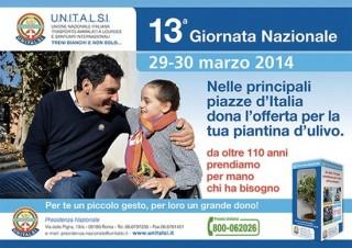 29-30 marzo 2014: Giornata Nazionale UNITALSI