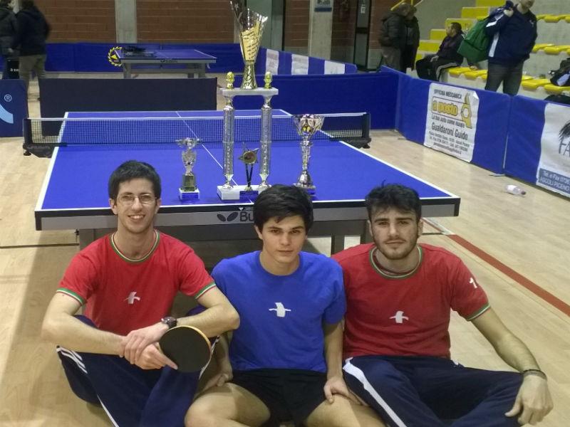 Giocatori del Tennistavolo Senigallia