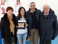 L'assessore Campanile assieme alla famiglia De Duonni, per il 4° Memorial Daniele De Duonni, a Senigallia