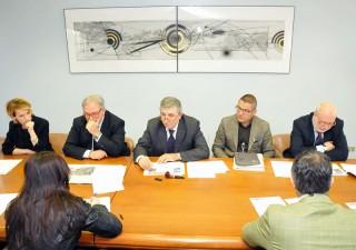 Il Consiglio di Amministrazione della Aerdorica Spa ha presentato al governo regionale gli obiettivi e le strategie del Piano Industriale 2014-2018