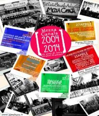 "Decennale ""Mezza Canaja"", manifesto"