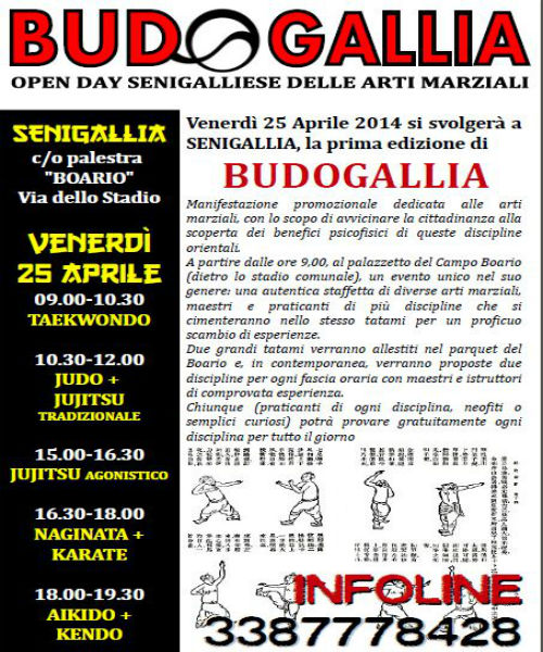 """Budogallia"", volantino"