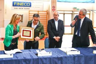 """Lo chef Bruno Barbieri a Senigallia riceve il """"Premio Panzini"""""""