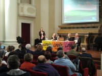 battesimo di Libera a Senigallia: l'intervento di Paola Curzi