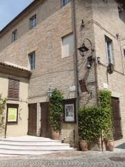 Il teatro C.Goldoni a Corinaldo