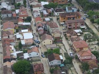 Senigallia alluvionata: la situazione a Borgo Bicchia il 3 maggio 2014