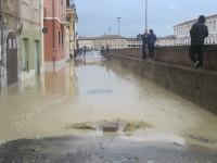Alluvione a Senigallia - Via XX Settembre