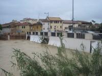 Alluvione a Senigallia - Ponte Portone