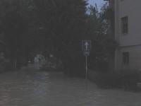 Alluvione a Senigallia - Via Mercantini