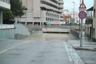 Senigallia sott'acqua per l'alluvione del 3 maggio 2014
