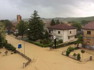 alluvione Pianello di Ostra 3 maggio 2014