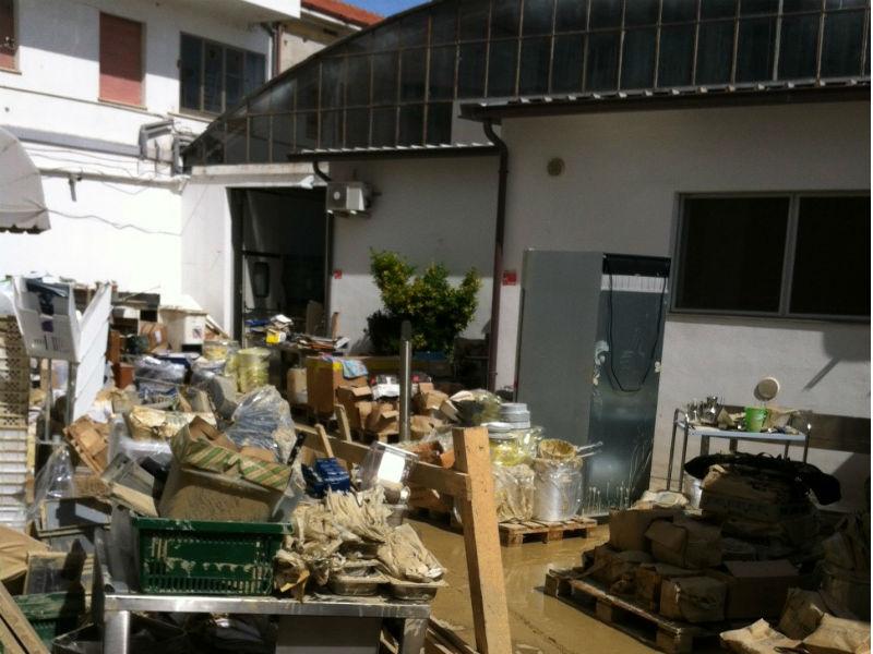 Ingenti danni alle imprese dopo l'alluvione del 3 maggio 2014