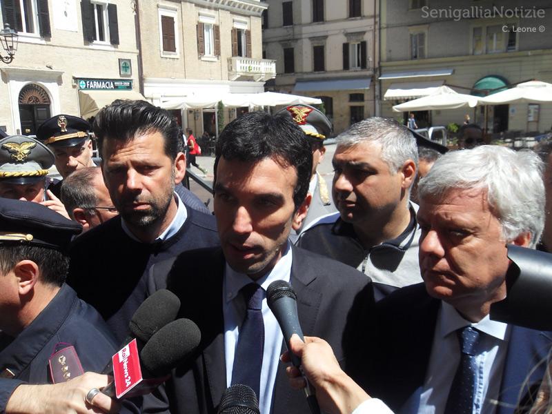 Incontro a Senigallia coi ministri Martina e Galletti