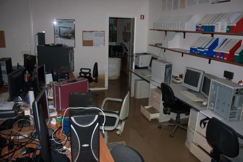 Netservice e la redazione di Senigallia Notizie dopo l'alluvione