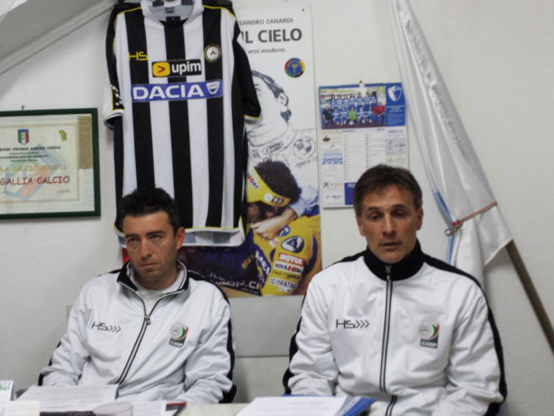 Dozio e Galli, tecnici di Udinese Academy