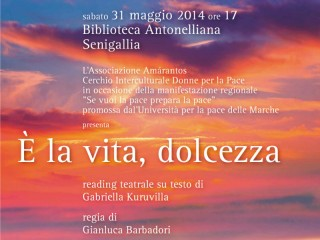 Associazione Amarantos, manifesto reading