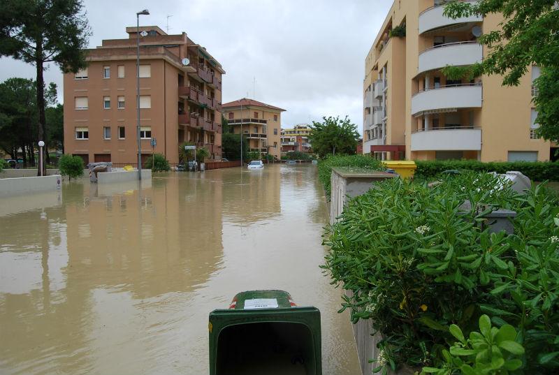 alluvione Senigallia 3 maggio - zona Saline (foto 3)