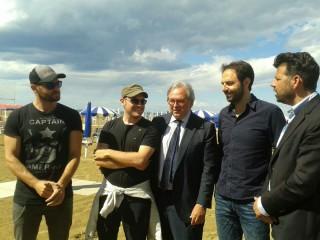 Gian Mario Spacca, Neri Marcoré e Maurizio Mangialardi