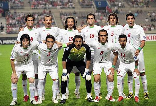 La nazionale di calcio dell'Iran