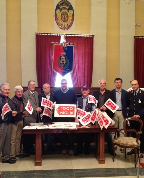 Presentata la tappa della corsa Mille Miglia che farà sosta a Senigallia