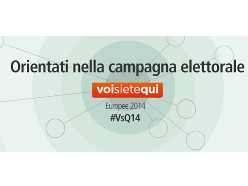 Voisietequi.it: orientarsi nel voto delle prossime Europee di maggio 2014 grazie a Openpolis