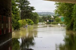 Senigallia alluvionata: la situazione al Vallone il 3 maggio 2014. Foto di Simone Porretti