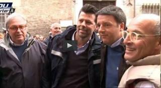 Mangialardi con Renzi