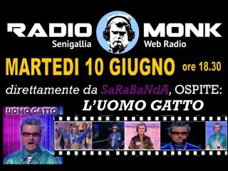 L'Uomo Gatto ospite a Radio Monk