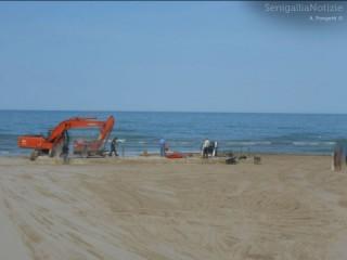 Spiaggia in zona Ponterosso