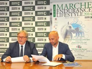 Conferenza stampa finale sui numeri della terza edizione di Marche Endurance Lifestyle