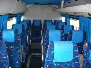 Pulmino, scuolabus, autobus - interno