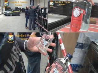 L'operazione della Guardia di Finanza di Ancona e Falconara in un deposito a Montemarciano