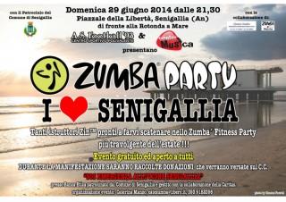Zumba party per Senigallia e gli alluvionati