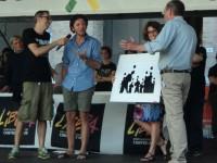 Il regista e fotografo :Lorenzo Cicconi Massi dona una sua foto all'asta per Libera