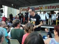 Filippo Solibello in mezzo al pubblico