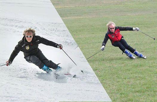 confronto sci alpino-sci d'erba