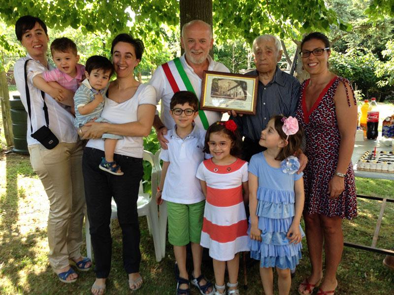 festeggiamenti Leonardo Casagrande